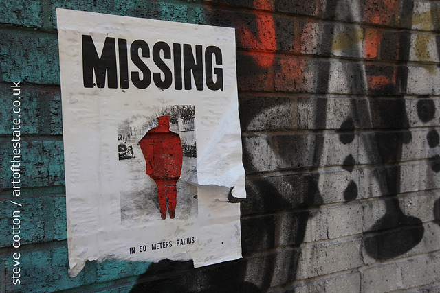 Pablo Delgado - Missing poster