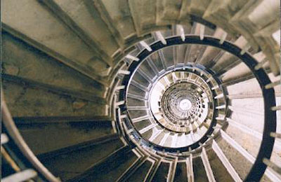 The Monument Stairs