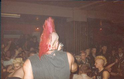 Wattie from the Exploited