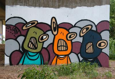 Quan graffiti