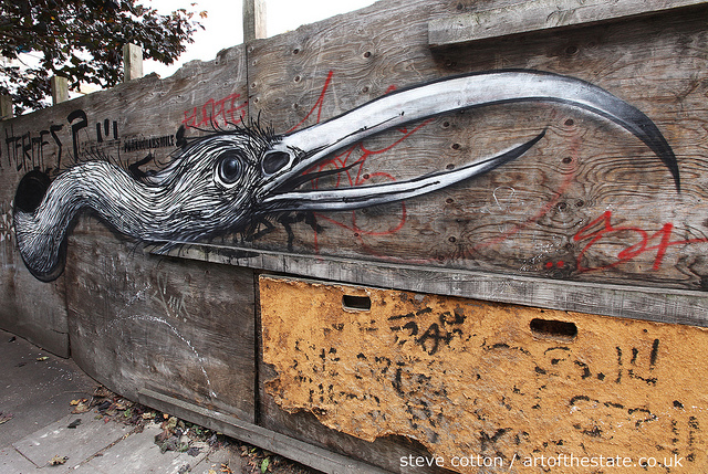 Roa off Brick Lane
