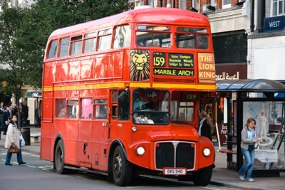 Route 159 Routemaster Bus