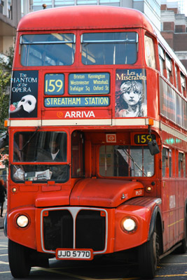 Routemaster bus route 159