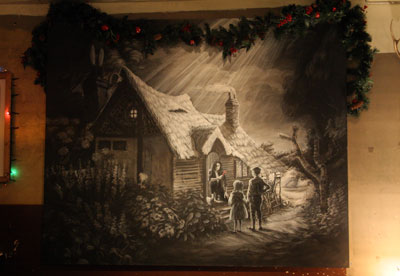 Banksy Hansel and Gretel painting