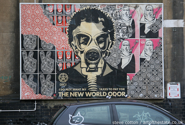 Shepard Fairey - New World Order