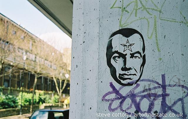 Shepard Fairey - Ladbroke Grove