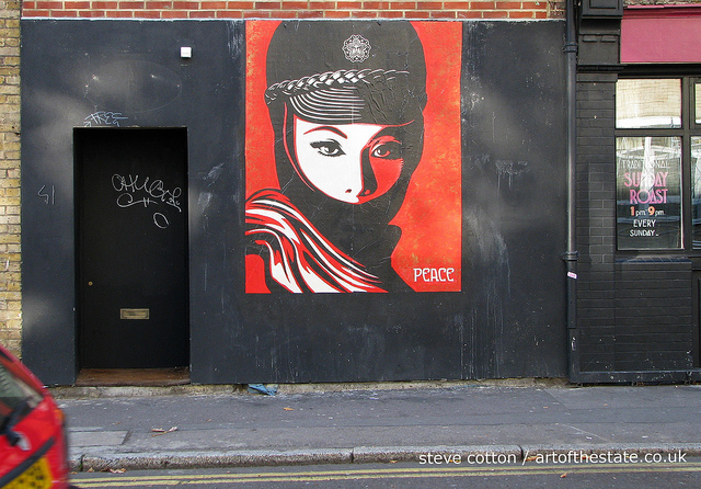 Shepard Fairey - Old Street