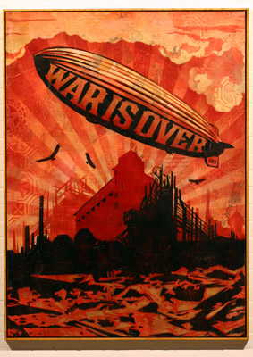 War Is Over - Shepard Fairey