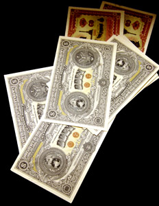 Shepard Fairey bank notes