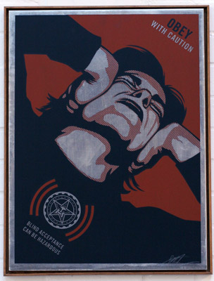 Obey With Caution - Shepard Fairey