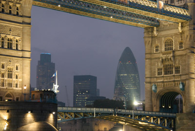 Swiss Re and Tower 42
