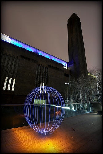 Ball of light, Tate Modern