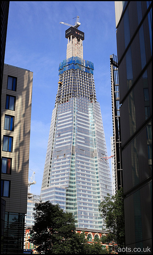 The Shard construction