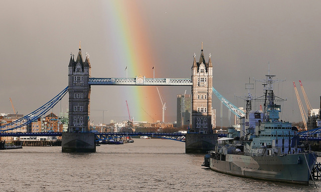 Tower Bridge Rainbow