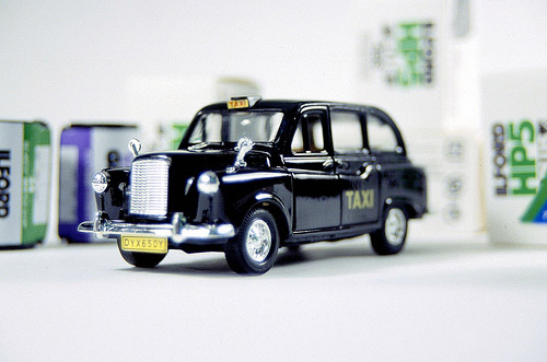 Toy London Taxi