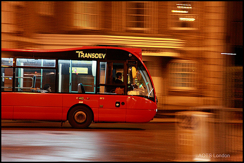 Transdev bus, London