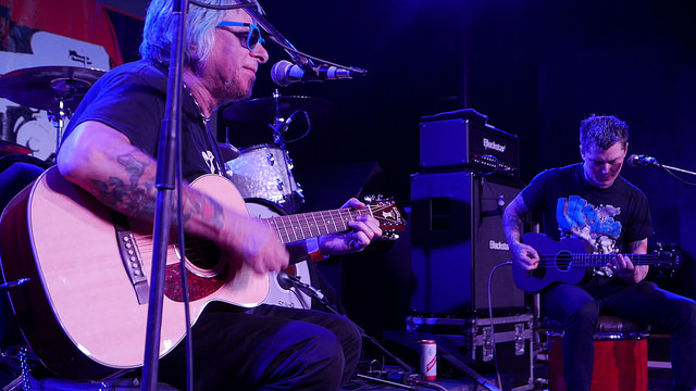 UK Subs acoustic set