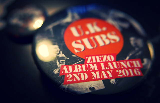 UK Subs Ziezo Album