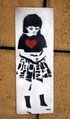 Zef stencil girl