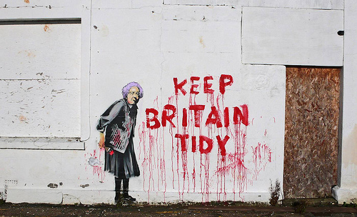Banksy - Keep Britain Tidy