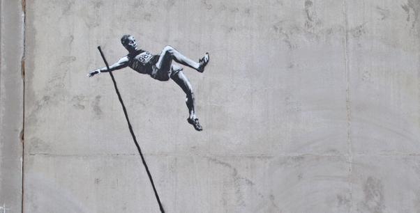 Banksy Olympics London 2012