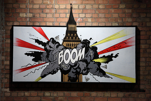 Dface Boom painting