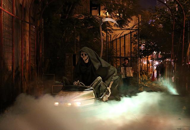Banksy Grim Reaper dodgems