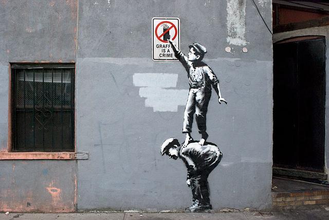 Banksy In New York Day 1