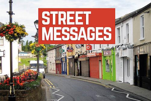 Street Messages book