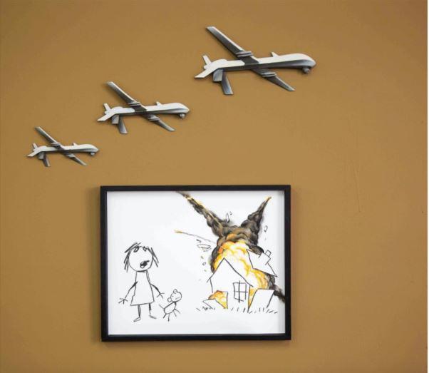 Banksy Drone Strike