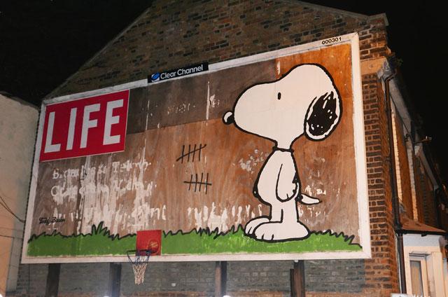 Teddy Baden Life Snoopy