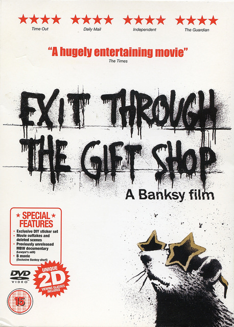 Banksy Exit Through The Gift Shop DVD