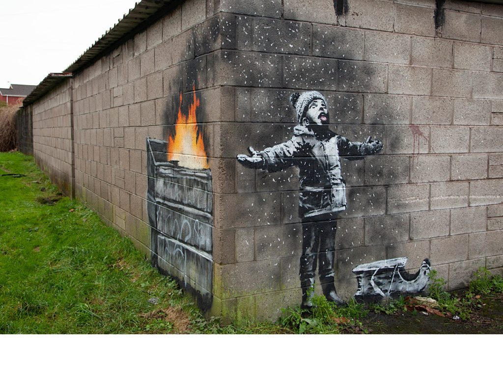 Banksy in Port Talbot