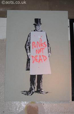 Banksy _ Punks Not Dead