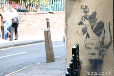 Banksy paparatzi