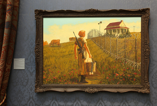 Banksy Home On The Hill