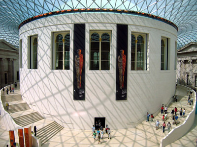 British Museum Great Court Roof