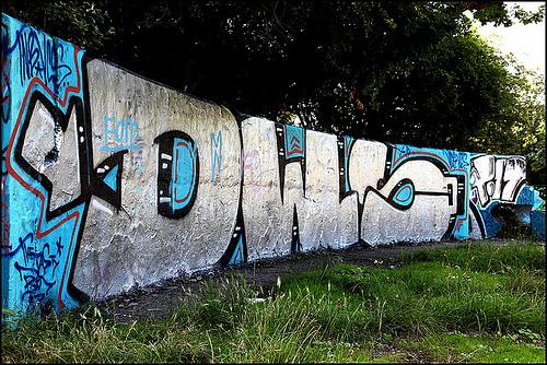 DWS graffiti