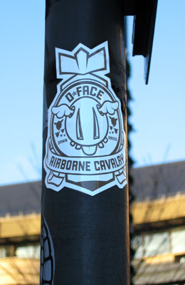 D*Face 'Airborne Cavalry' sticker