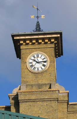 Kings Cross Station Clock Tower