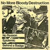 No More Bloody Destruction single