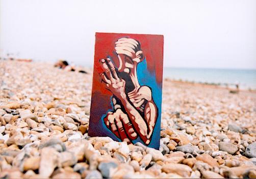Adam Neate seaside exhibition