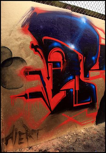 Alert graffiti