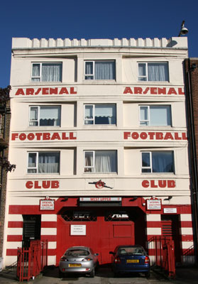 Arsenal Highbury Stadium