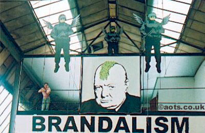 Banksy Brandalism