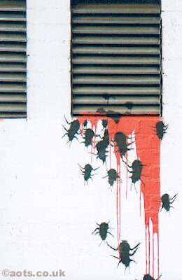 Banksy cockroaches