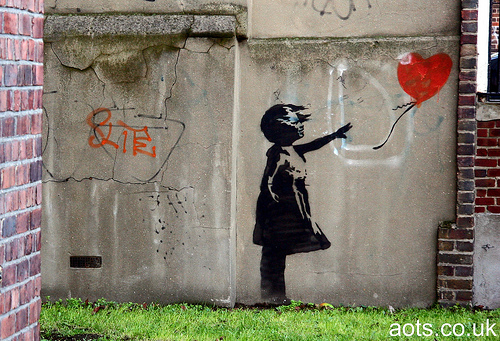 Banksy Balloon Girl