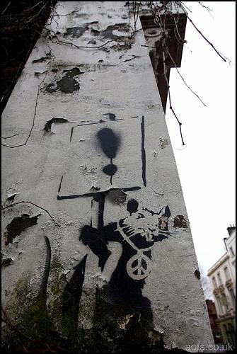Banksy rat, Belsize Park