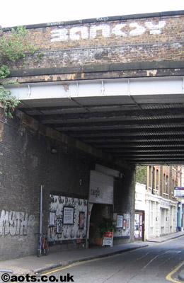 Banksy: Bridge logo