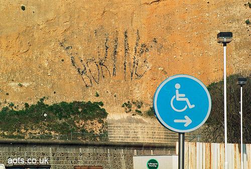 Banksy Brighton Boring
